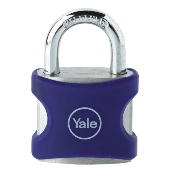 Picture of Aluminium Padlock 38mm Blue