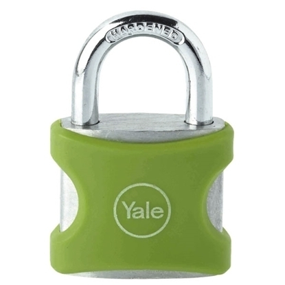 Picture of Aluminium Padlock 38mm Green