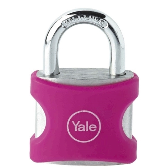 Picture of Aluminium Padlock 38mm Pink