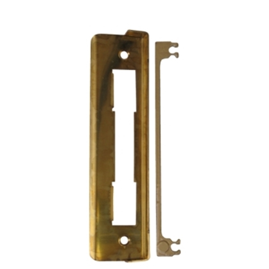 Picture of Commercial Lock Rebate Set - Brass
