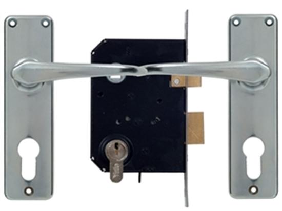 Picture of Euro Profile Cylinder Premium Lockset
