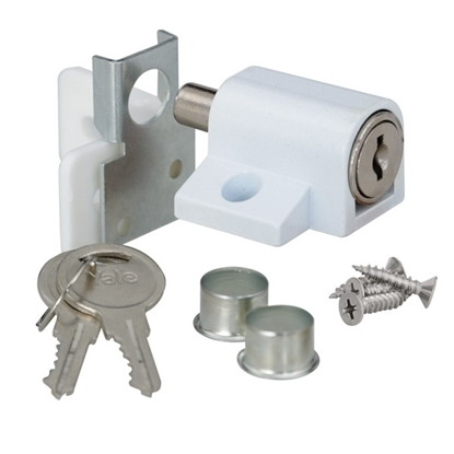 Picture of Patio Door Lock - White