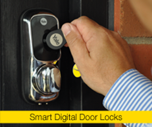 Picture for category Keyless Connected Smart Door Lock