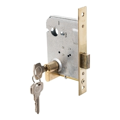 Picture of Euro Profile Cylinder Dead Lock - Machined Brass