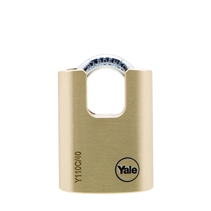 Picture of 40mm Closed Shackle Brass Padlock