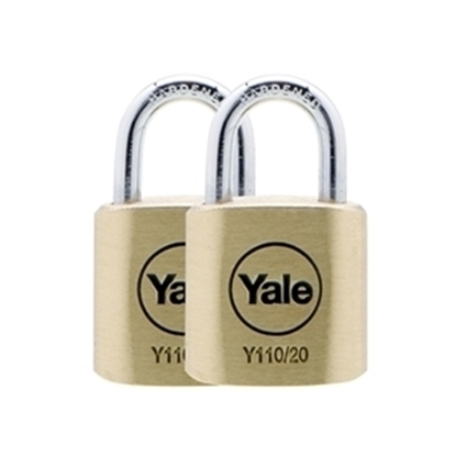 Picture of 20mm Brass Padlock Duo KA