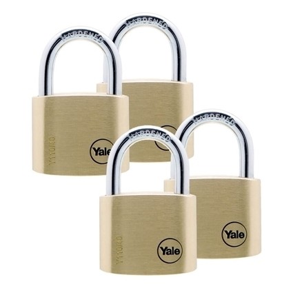 Picture of 40mm Brass Padlock Quad KA