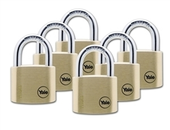 Picture of 40mm Brass Padlock Six KA