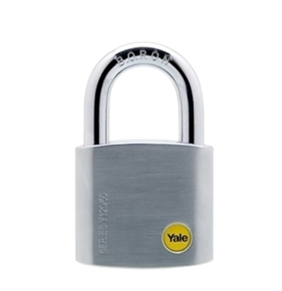 Picture of 50mm Brass Satin Chrome Padlock