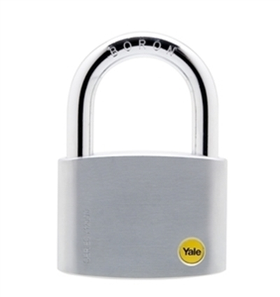 Picture of 70mm Brass Satin Chrome Padlock