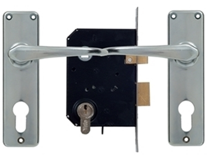 Picture of Euro Profile Cylinder Premium Lockset