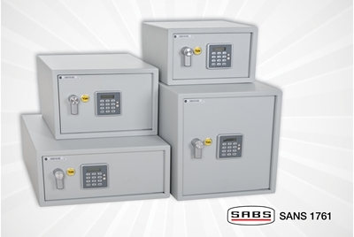 NEW Security Safes with alarms.