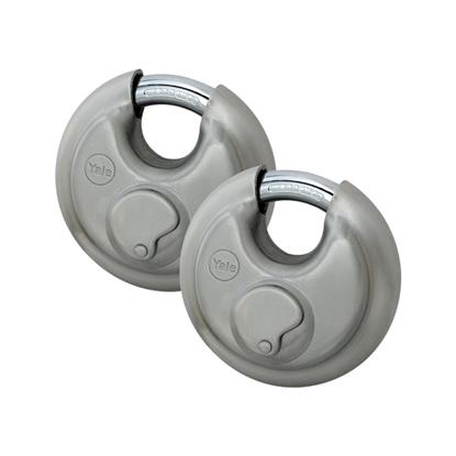 Picture of Essential Discus Padlock 70mm - Duo pack