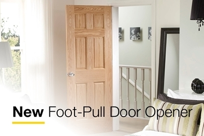 New Easy-Pull Foot Opener