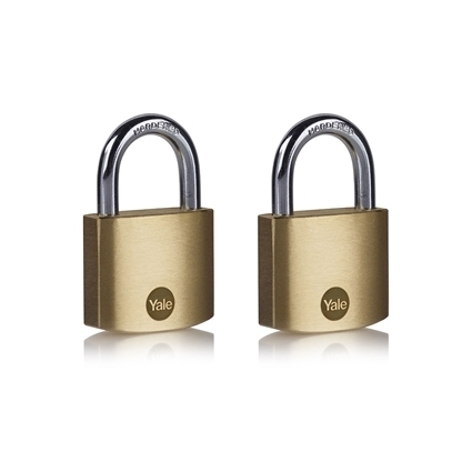 Picture of 40mm Brass Padlock - Duo Pack
