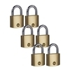 Picture of 40mm Brass Padlock - pack of six