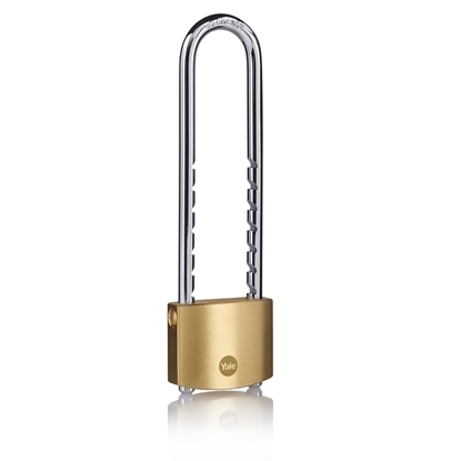 Picture of 50mm Brass Removable Shackle Ratchet Padlock