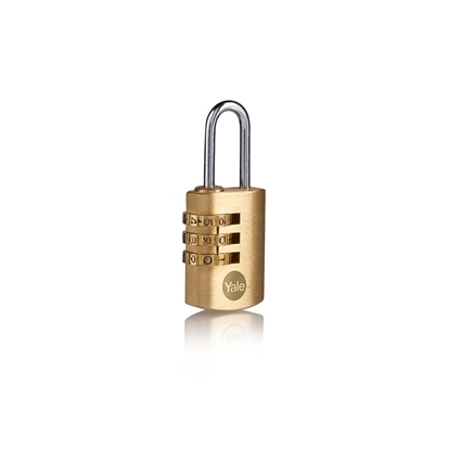 Picture of 22mm Brass Padlock combination padlock