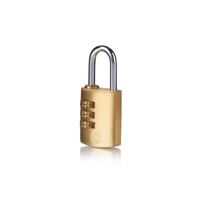 Picture of 30mm Brass Padlock combination padlock