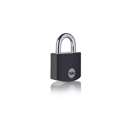 Picture of Black Aluminium Padlock