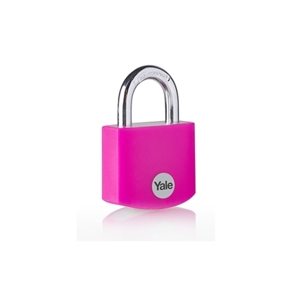 Picture of Pink Aluminium Padlock
