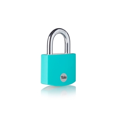 Picture of Teal Aluminium Padlock