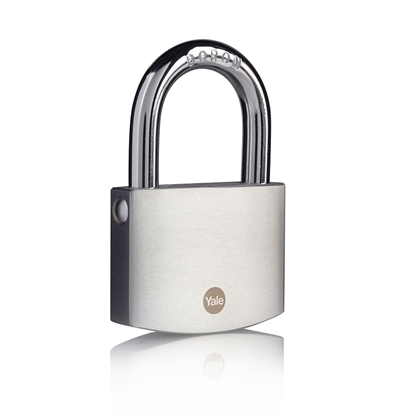 Picture of 70mm Brass Padlock with Chrome Finish