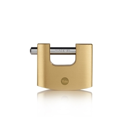 Picture of 70mm Brass Shutter Padlock