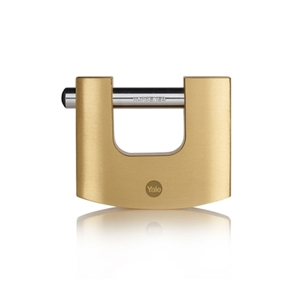 Picture of 80mm Brass Shutter Padlock