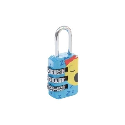 Picture of Emoji Combination Lock - Light Blue