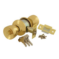 40CY3-5716-0201 - Tulip Cylindrical Knobset - Polished Brass