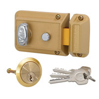 YDY1022SD - Anti-Credit Card<br>Nightlatch