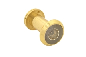 YDY99200PL - 200 Degrees Door Viewer - Polished Brass