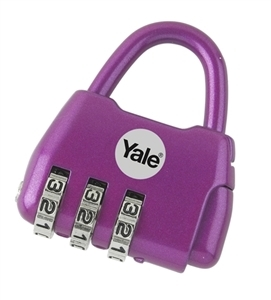 YF20209/PU - Fashion Dreams Kiddies Padlocks - Purple