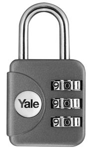 YP1/28/121/1G - Combination Padlock <br>Grey