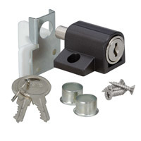 YPDL/2KB - Patio Door Lock - Brown