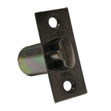 578-02-00T-AB - 70mm Entrance Latch Only - Antique Brass