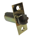 578-02-00T-PB - 70mm Entrance Latch Only - Polished Brass