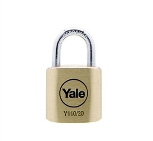 Y110/20/111/1 - 20mm Brass <br>Padlock