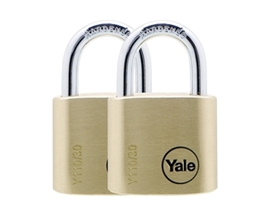 Y110/30/117/2 - 30mm Brass Padlock <br>Duo KA