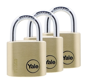 Y110/30/117/3 - 30mm Brass Padlock <br>Trio KA