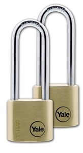 Y110/30/150/2 - 30mm Long Shackle Padlock Duo KA