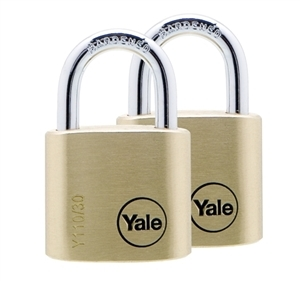 Y110/40/123/2 - 40mm Brass Padlock <br>Duo KA
