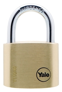 Y110401231BY401 -  40mm Brass Padlock  (Set A, Keyed Alilke Order Qty.)